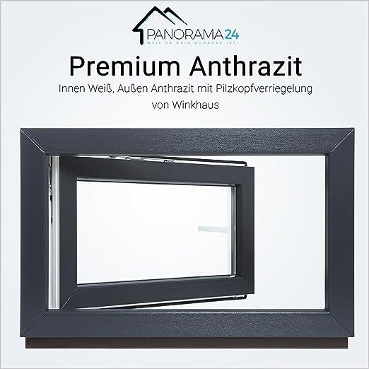 Breite: 65 cm x H/öhe: Alle Gr/ö/ßen Dreh-Kipp Kellerfenster 3fach-Verglasung Kunststofffenster Fenster wei/ß BxH: 65x45 cm DIN Rechts Premium