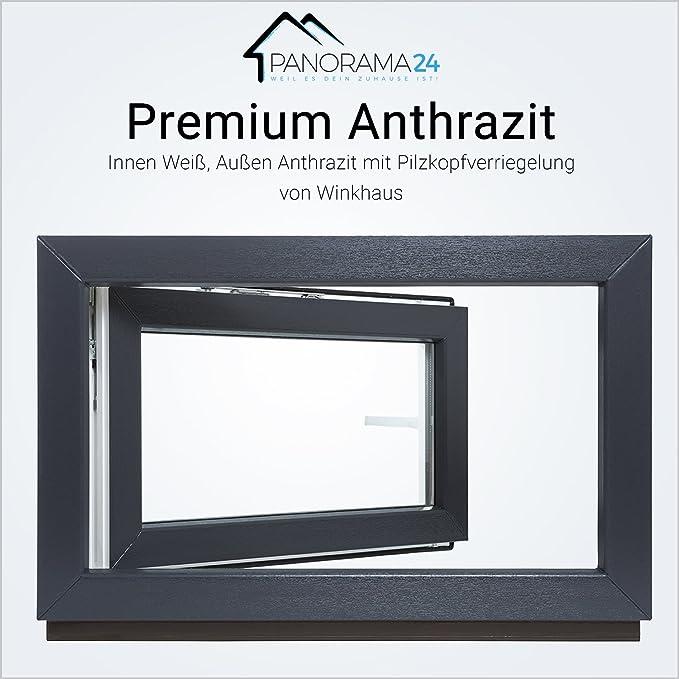 BxH: 95x70 cm DIN Links Fenster 3 fach Verglasung Kunststofffenster Kellerfenster wei/ß Breite: 95 cm x H/öhe: Alle Gr/ö/ßen Premium Dreh-Kipp