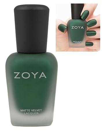 Zoya Matte Nail Polish Velvet Limit Edition Veruschka