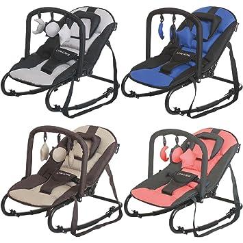 Babywippe Babytrage Schaukel Babysitz mit Holzspielzeug