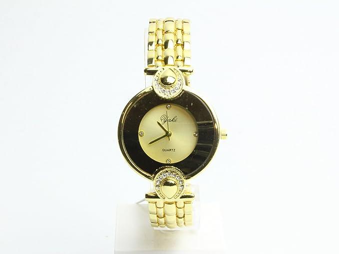 65bfd3fef19302 YAKI Orologio Donna Elegante di Marca Fashion Orologi da Donna Analogico Al  Quarzo da Polso Per Orologio Bracelet Wrist Watch: Amazon.it: Orologi