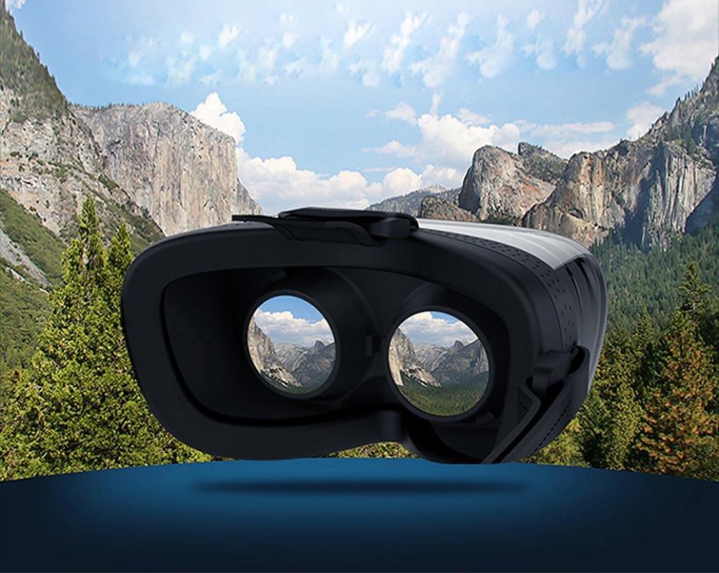 Coper 1080P HD Virtual Reality 3D Glasses Octa-Core Android 4.4 2+8GB Headset Box (Black) by Coper (Image #5)