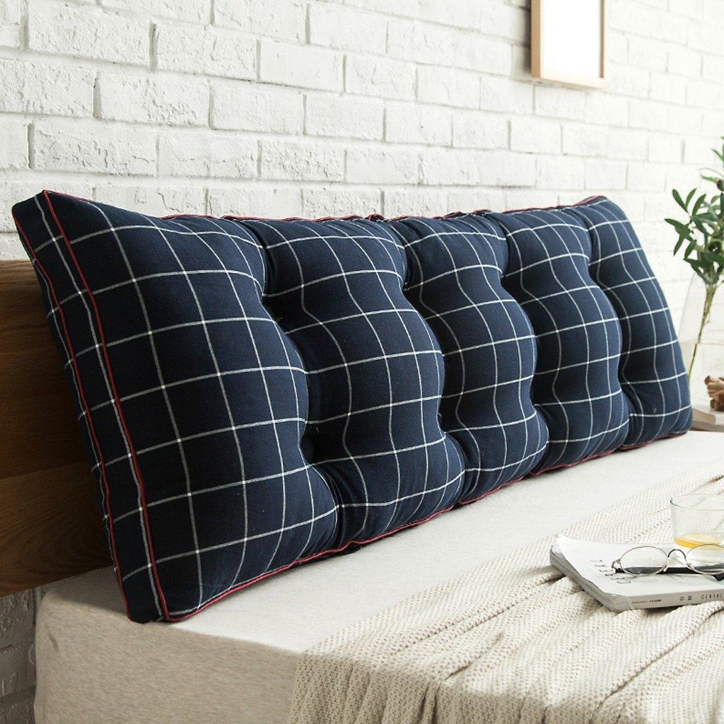 DGF Double bed pillow / pillowtop mattress, bedside / sofas / office / available for waist / reading pillow mat (Energy A +) ( Color : C , Size : 1805020cm )