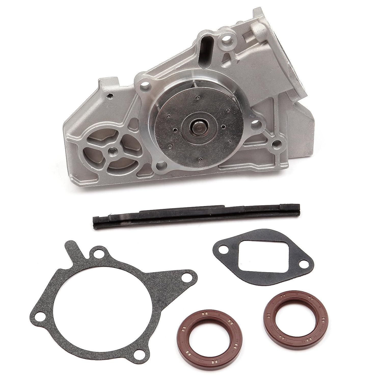 Scitoo Tbk318wpt Fits 01 05 Kia Rio 15l 16l Dohc 16v Timing Belt Cover A5d A6d Kit Water Pump Automotive
