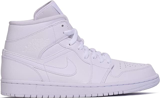 beauty pretty nice best deals on Nike Air Jordan 1 Mid, Chaussures de Basketball Homme: Nike ...