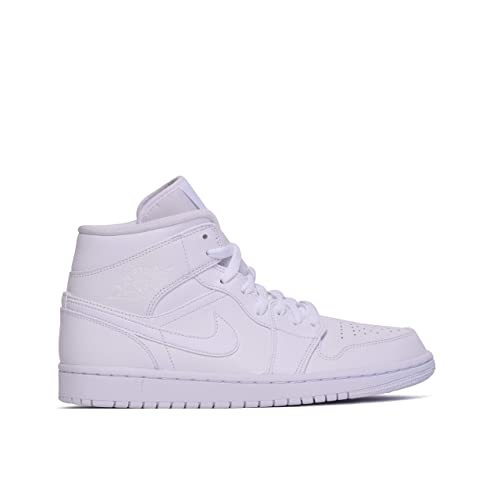 Basketball Jordan Nike Air Homme 1 MidChaussures De 8Nn0wm