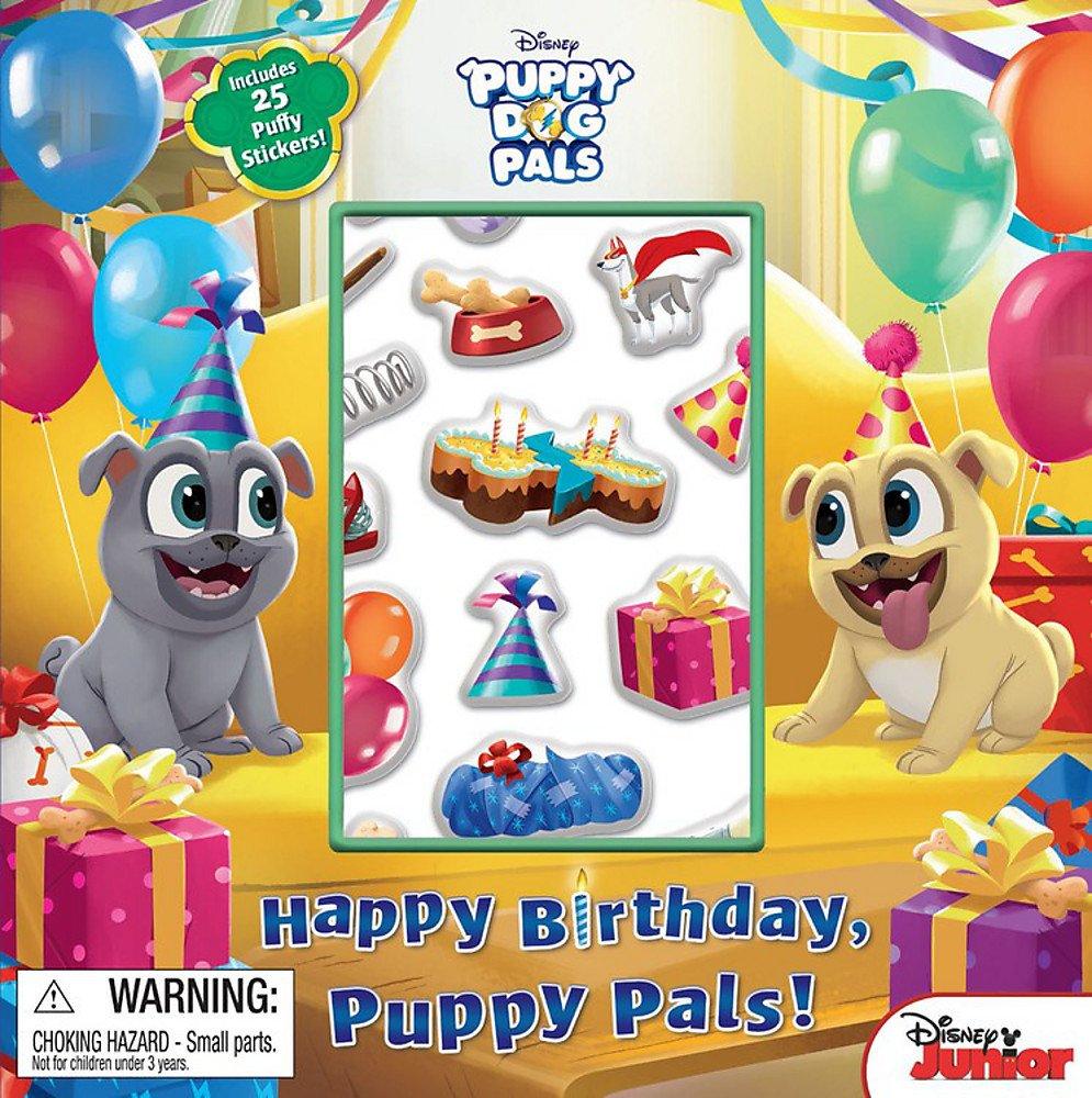 Happy Birthday Puppy Pals Disney Puppy Dog Pals Disney Book