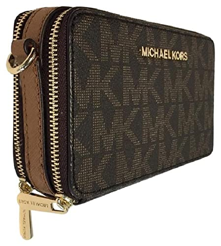780b64883aa7 Michael Kors JET SET TRAVEL Crossbody Phone Bag Handbag Wallet,  Brown/Acorn: Amazon.co.uk: Shoes & Bags