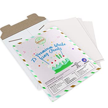 Splendid Sensations White Edible Printer Paper