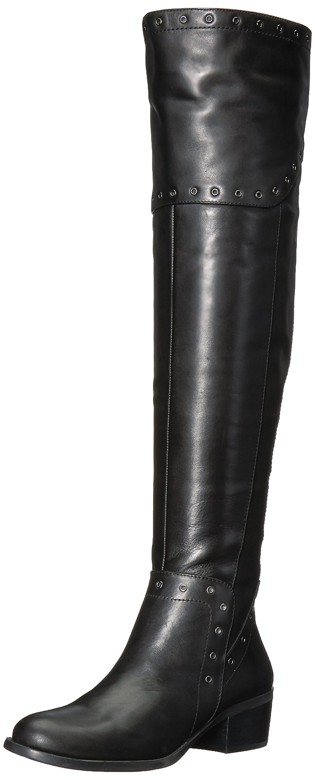 Vince Camuto Women's Bestan Over The Knee Boot, Black, 8.5 Medium US