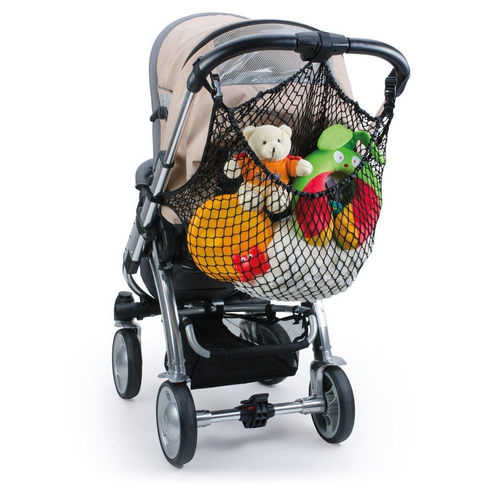 Diago Uk XL Shopping Basket Net Pram, Pushchair, Stroller - Black