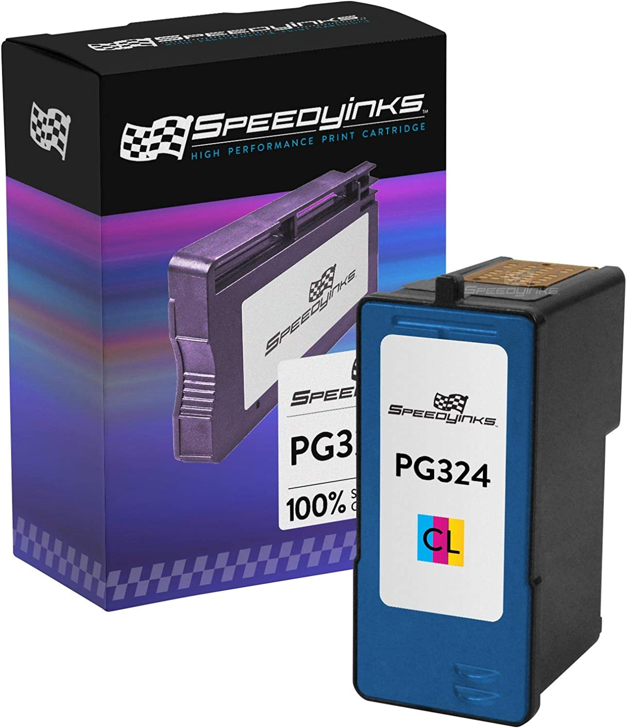 Speedy Inks Remanufactured Ink Cartridge Replacement for Dell JF333 Series 6 (Color)