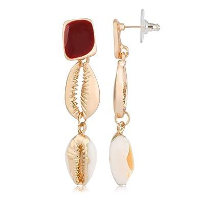 Córdoba Jewels | Pendientes en acero bañado en oro con ...