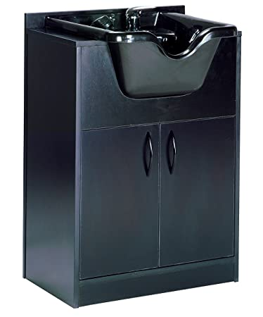 amazon com olla shampoo bowl and cabinet assembled black hair rh amazon com olla shampoo bowl and cabinet shampoo bowl and cabinet combination