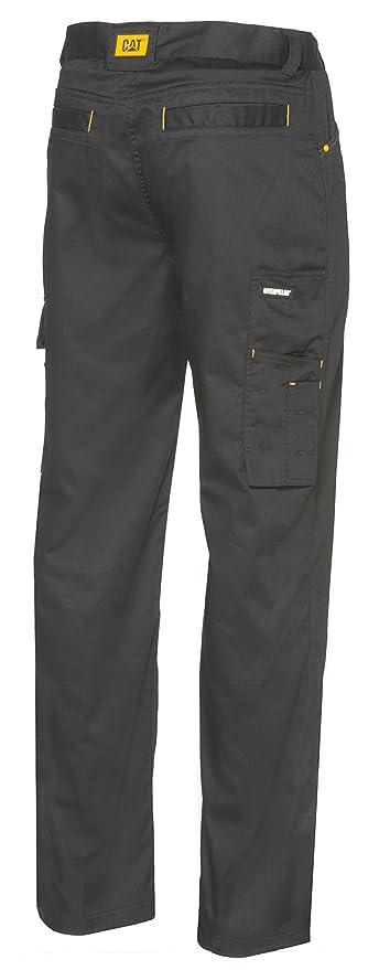 Cat Workwear Mens Allegiant Multi Pocket Contrast Work Cargo Trousers