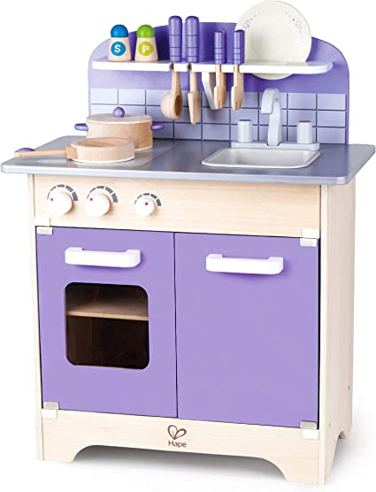 Kids Kitchen Accessories >> Usa Toyz Hape Play Kitchen For Toddlers Kids Kitchen Playsets For Pretend Play Wooden Toys Kitchen Playset W 13 Toy Kitchen Accessories