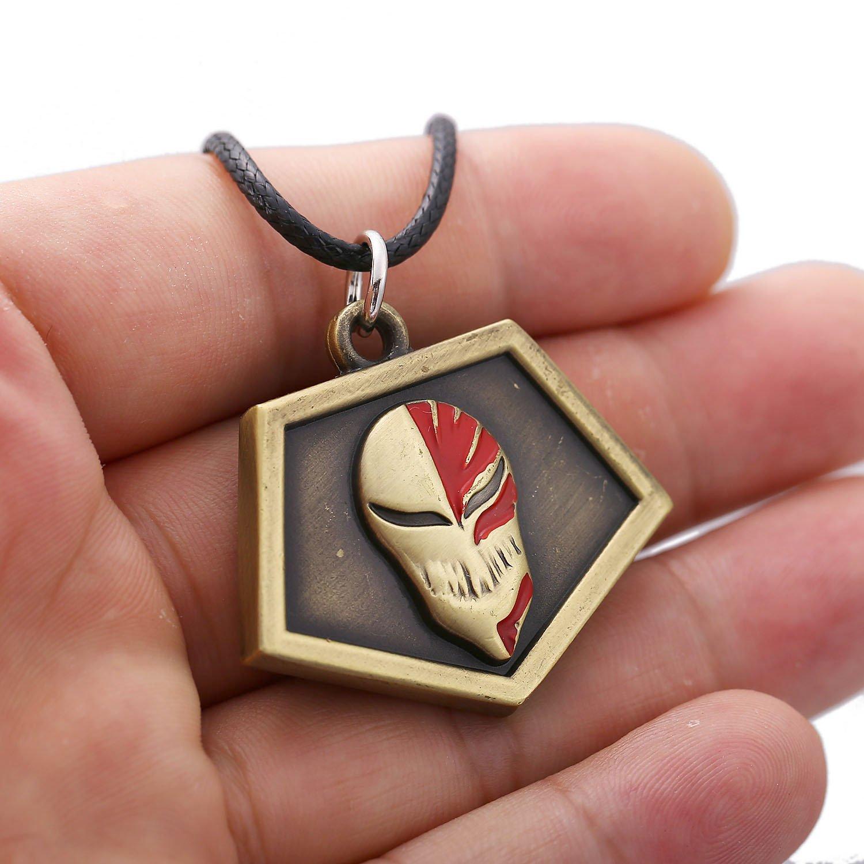 usongs animation around Bleach Ichigo Kurosaki Ichigo mask passes necklace
