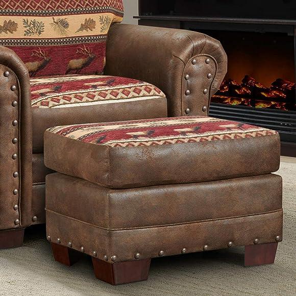 American Furniture Classics Sierra Lodge Ottoman