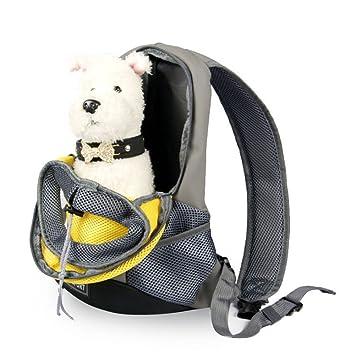 CTAO Mochila para Mascotas Mochila para Perros Mochila para Mascotas Mochila para Transportistas Mochila De Malla Mochila para Llevar Bolsas Dobles para ...