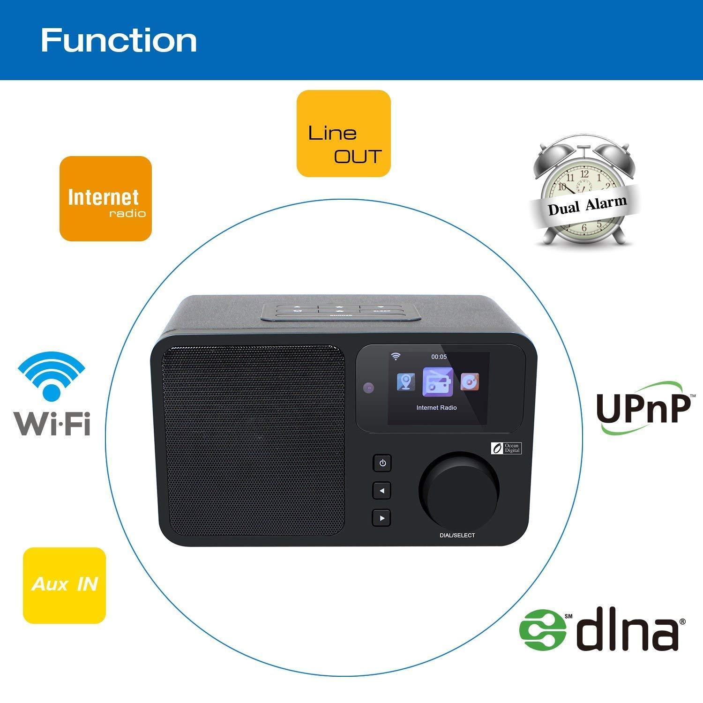 Amazon.com: Ocean Digital Internet Radio WR233 WiFi WLAN Wireless ...