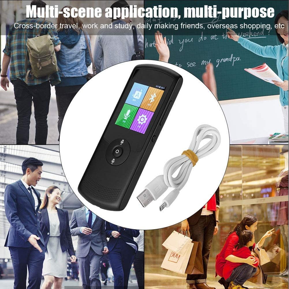 Multilingual Multi Language Translation Machine Ciglow Real Time Translator 42 Language Supported WiFi Smart Translator
