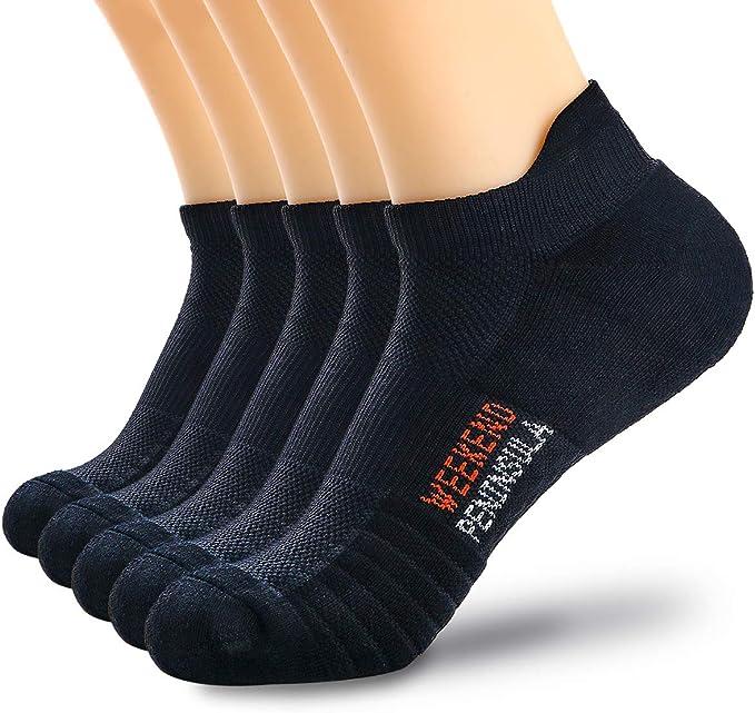 5 Pairs Running Sports Trainer Socks