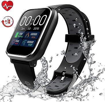 Siete relojes inteligentes y pulseras de actividad muy