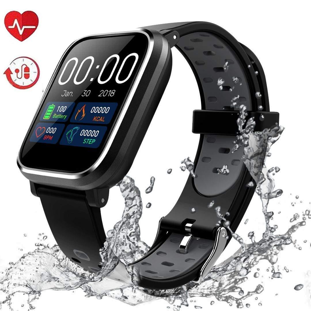 IP67 impermeabile Smartwatch con cardiofrequenzimetro per Donna ...