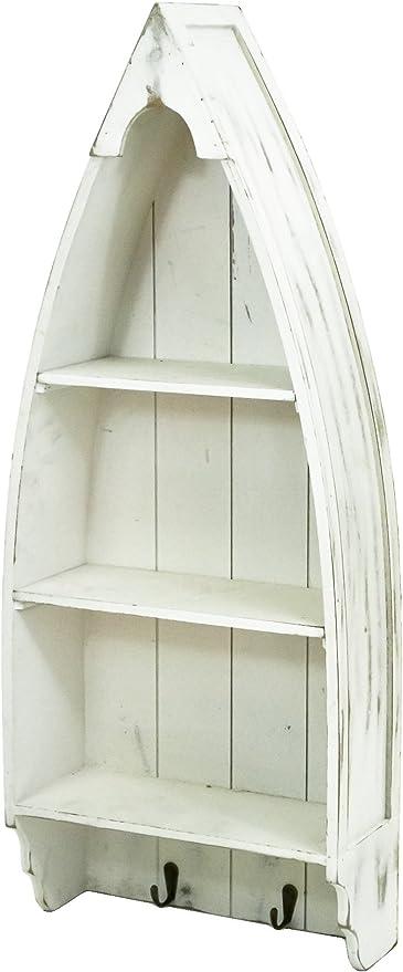 east2eden para acabados metálicos en blanco de madera e instrucciones para hacer bote marinero estantería w/cajones
