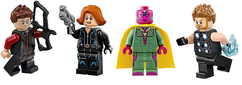 Amazon.com: LEGO Super Heroes: Black Widow Hawkeye Vision ...