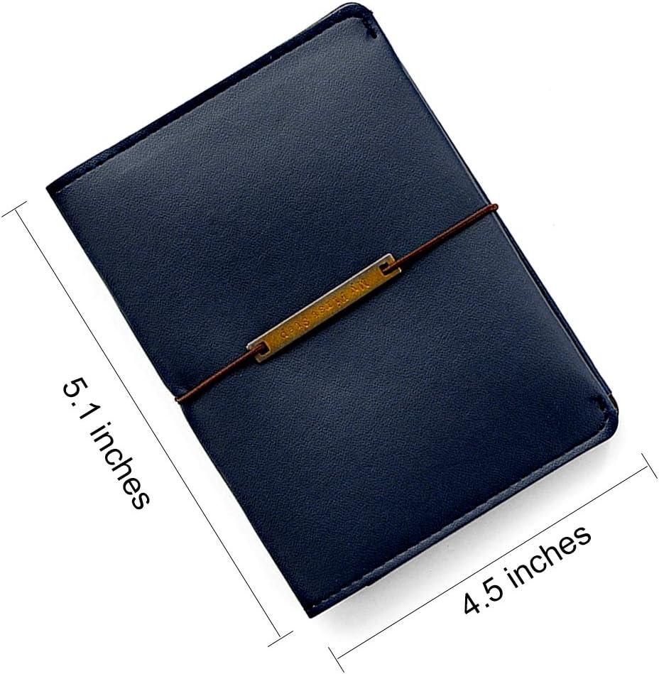 Seasons Leather Passport Holder Cover Case RFID Blocking Travel