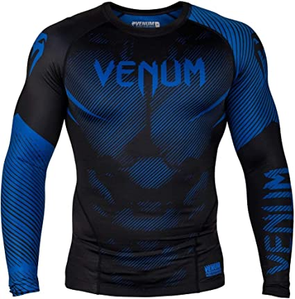 Venum G-Fit Compression Top MMA Rash Guard BJJ Rashguard Gym Short Sleeve
