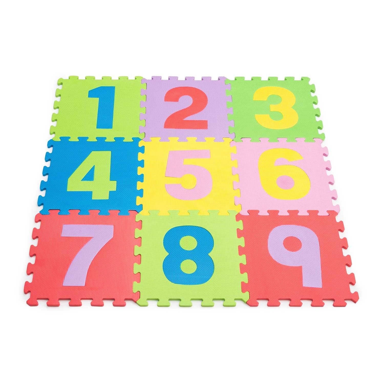 Kids Playful Introduction To Numbers /& Letters Puzzle Mat 36 pieces Free P/&P