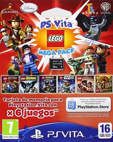 Sony - Tarjeta De Memoria De 16 GB Con Lego Mega Pack (PS Vita): Amazon.es: Videojuegos