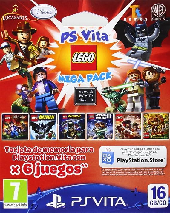Sony - Tarjeta De Memoria De 16 GB Con Lego Mega Pack (PS Vita ...