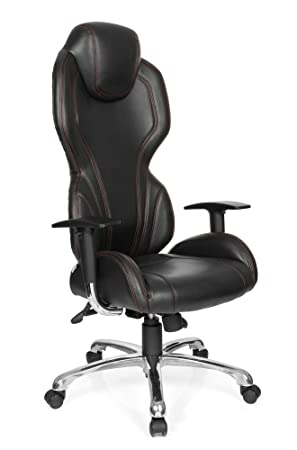 hjh OFFICE Silla Gaming/Silla de Oficina The Game Pro I Piel sintética Negro: Amazon.es: Hogar