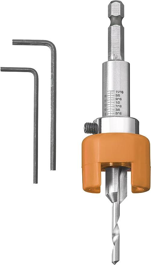 Bohrer 3,2 mm variablem Tiefenanschlag z.B für Terrassendielen Senker 12 mm