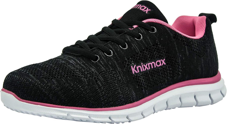 Knixmax Women s Running Sneakers Lightweight Casual Walking Shoes Sport Tennis Shoes