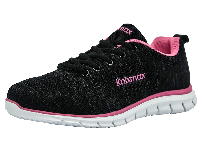 Knixmax Zapatillas de Deporte para Mujer Zapatillas Có modas para Mujer Zapatillas de Running para Mujer Gimnasia Ligero Transpirable Sneakers Zapatillas Ligeras para Correr, 36-41EU
