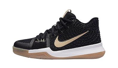 huge discount 0241e f9b98 Amazon.com   Gradeschool Boys Kyrie 3 Sneakers New, Black ...