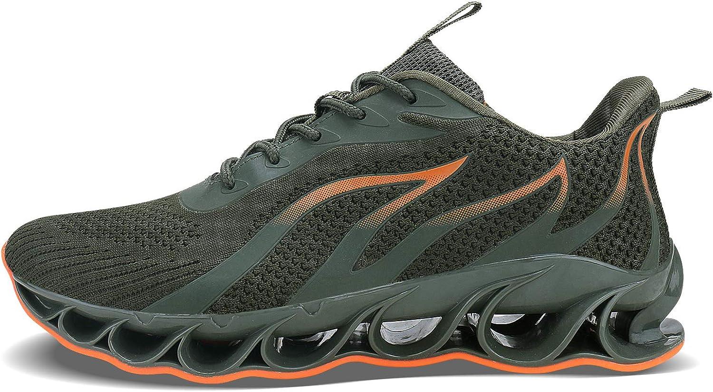 antideslizantes transpirables modernas ALLCHAR Zapatillas deportivas para hombre