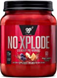 BSN N.O.-XPLODE Pre Workout Supplement with Creatine, Beta-Alanine, and Energy, Flavor: Fruit Punch, 60 Servings (Package may vary)