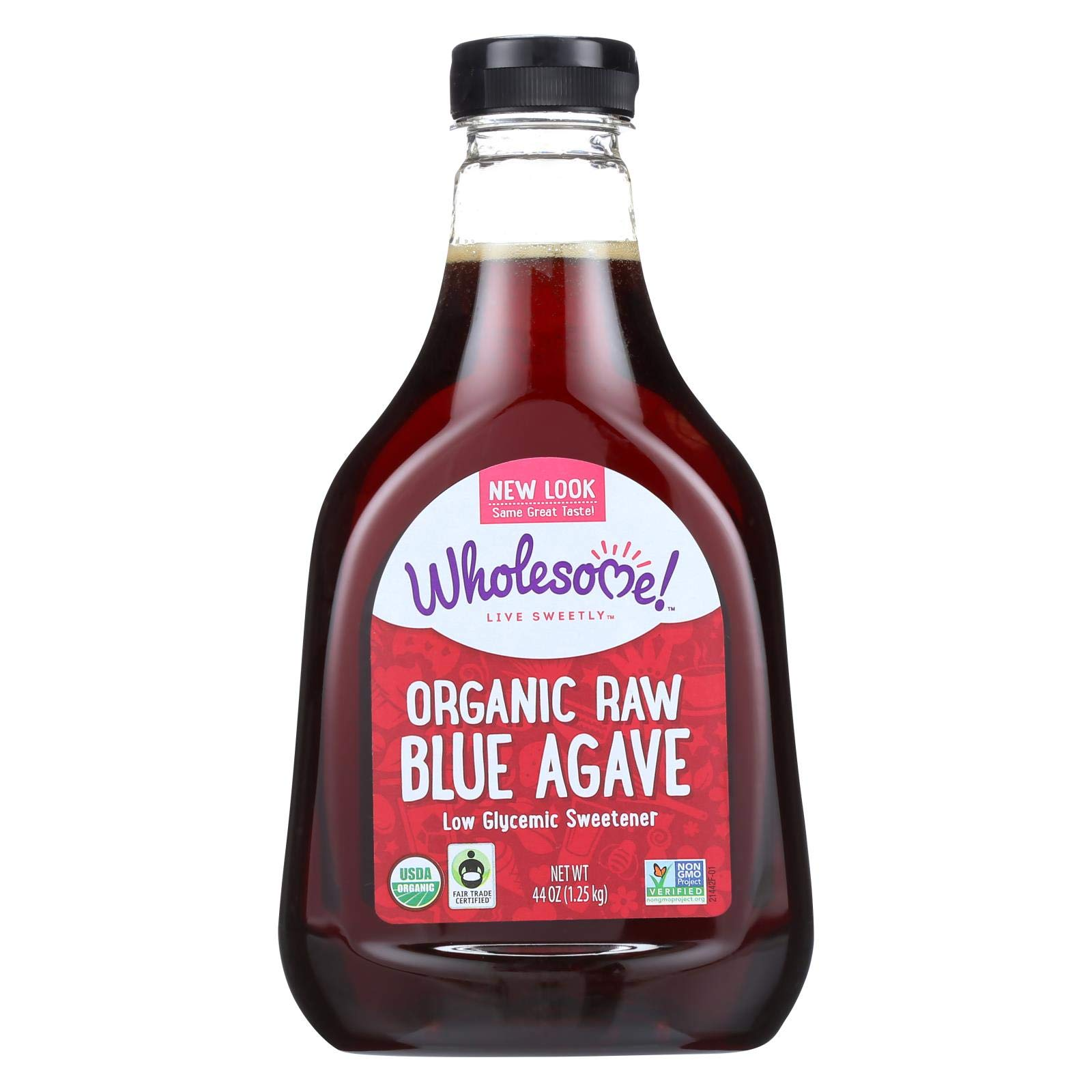 Wholesome Sweeteners Blue Agave - Liquid Sweetener - Case of 6 - 44 oz.