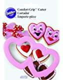 Wilton Comfort Grip Double Heart Cookie Cutter