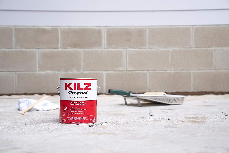 Amazon.com: KILZ Original Multi-Surface Stain Blocking Interior Oil-Based Primer/Sealer, White, 1 Quart: Home Improvement