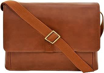 HIDESIGN Aiden Messenger Bag, Tan, AM-003