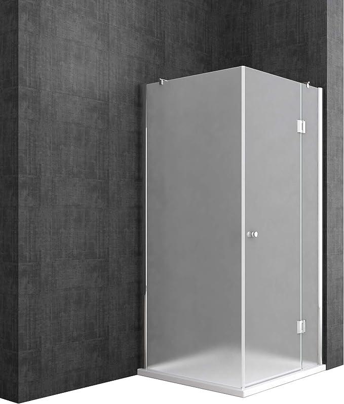 doporro Cabinade ducha de esquina Rav05K 100x120x190cm, Mampara de vidrio de seguridad templado transparente   Revestimiento - Nano: Amazon.es: Bricolaje y herramientas