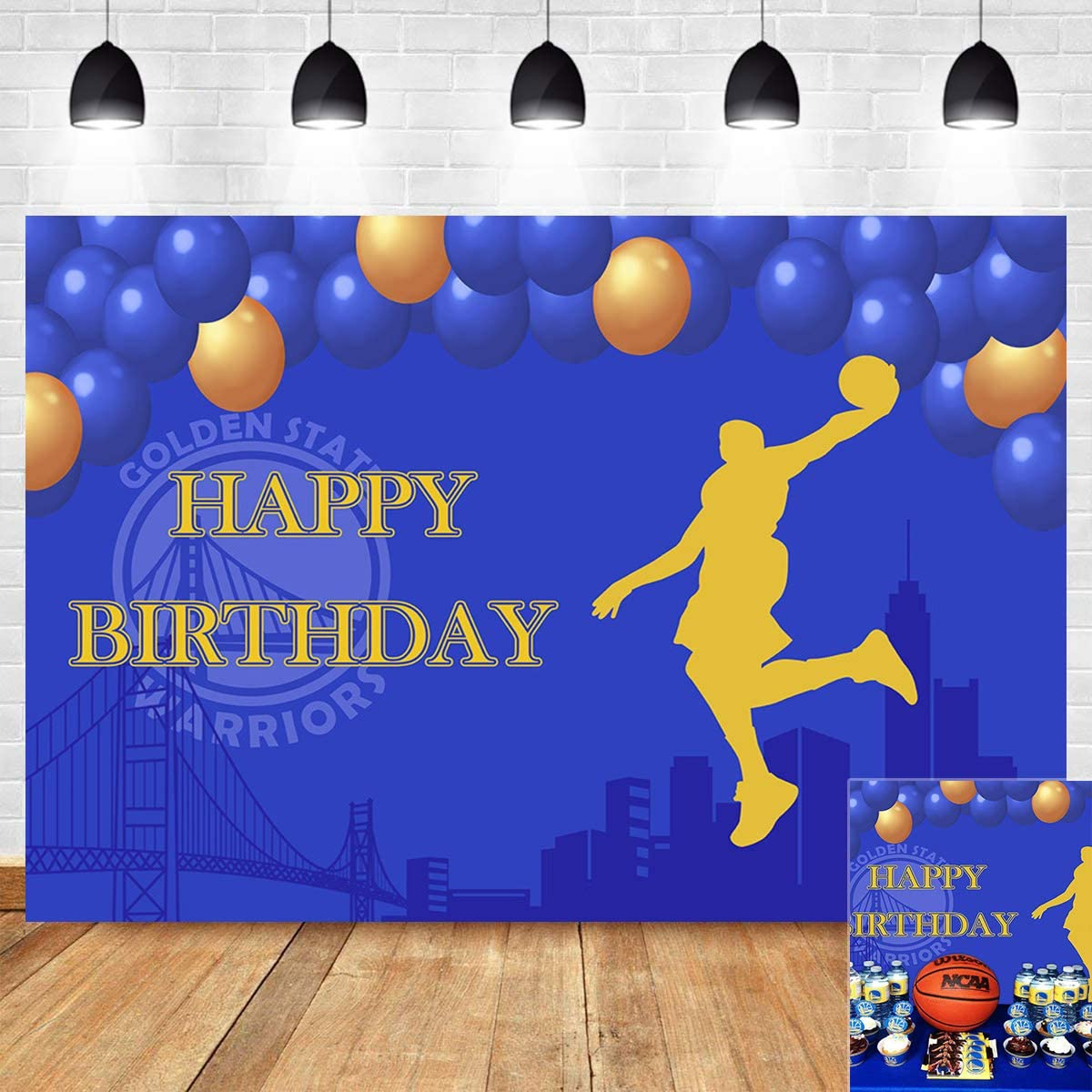 Sports 10x12 FT Backdrop Photographers,Basketball Players Dribbling Dunking Floater Vibrant Colored Uniforms Sportsmanship Background for Baby Birthday Party Wedding Vinyl Studio Props Photography