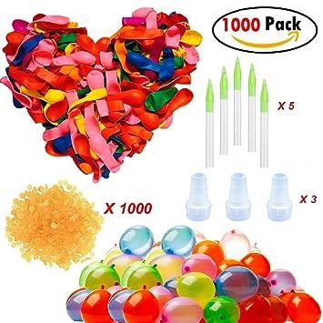GlobosBandas Clerfy Magic Water Juguete Acc Aplicadores De Goma Y 5 AguaBombas Incluye BalloonsGlobos 1000 LAR35j4