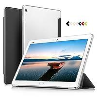 IVSO Huawei MediaPad M3 Lite 10 Cover Custodia - Slim Smart Cover Custodia Protettiva in pelle PU per Huawei MediaPad M3 Lite 10 Tablet, Nero